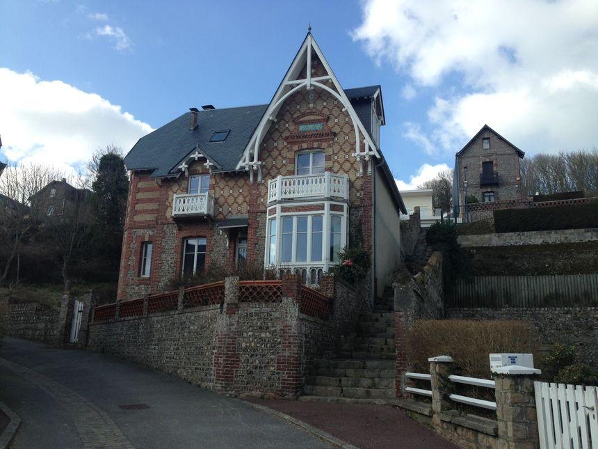 La plupart des maisons à Veules-les-Roses sont des résidences secondaires