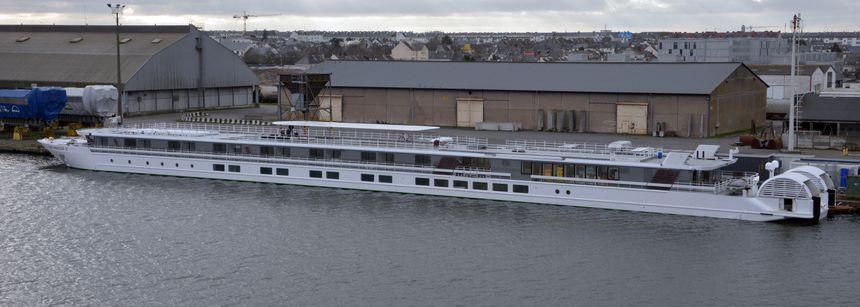 Le navire fluvial Elbe Princesse II livré à CroisiEurope