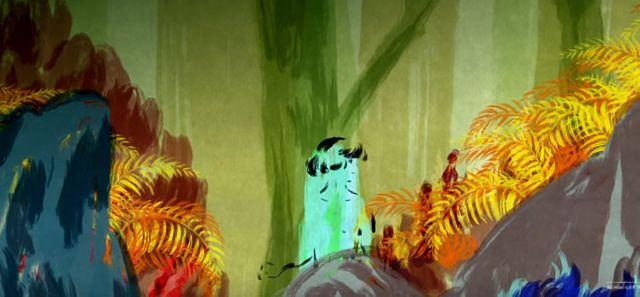 """Capture écran du clip """"Toute Latitude"""" de Dominique A par Sébastien Laudenbach"""