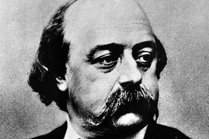 Une photo de Gustave Flaubert (1821-1880), romancier français et auteur de nouvelles, considéré comme un chef de file de l'école naturaliste du XIXe siècle.