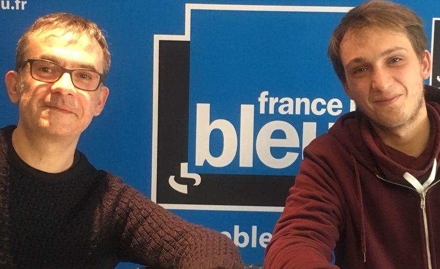 Franck Langlois et Alvin