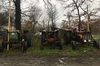 Tracteurs à la ZAD