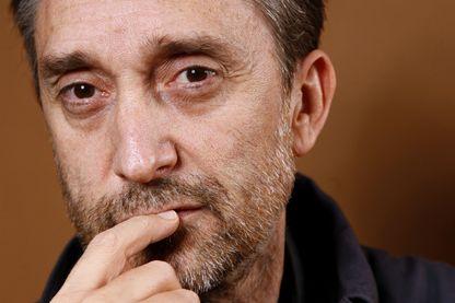 Portrait de Joël Pommerat metteur en scène, acteur et réalisateur le 5 décembre 2012 à Paris
