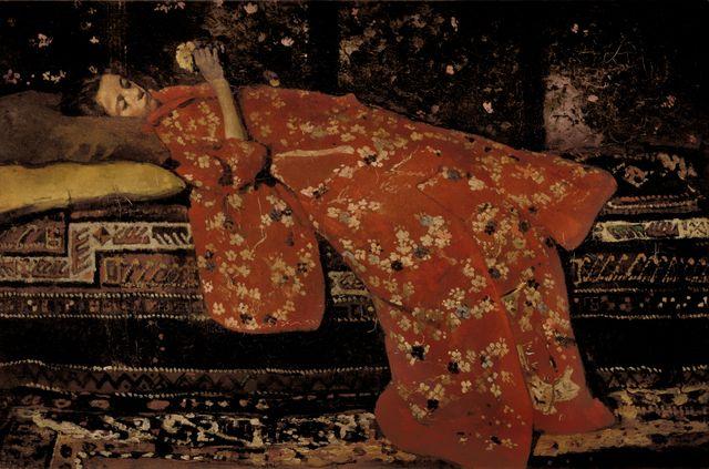 Breitner, Le kimono rouge