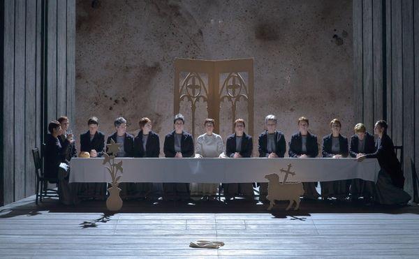 """La cène version carmélites : """"Dialogues des Carmélites"""" de Francis Poulenc (Acte III)"""