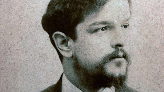 Portrait du compositeur Claude Debussy vers 1893