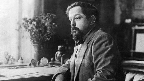Portrait du compositeur Claude Debussy vers 1900