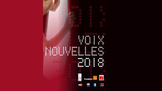 visuel édition 2018 du Concours Voix Nouvelles