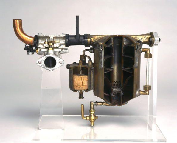 Carburateur de voiture Delahaye motor, 1901