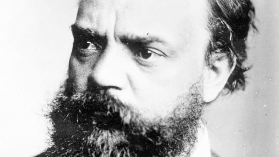 Portrait d'Antonín Dvořák