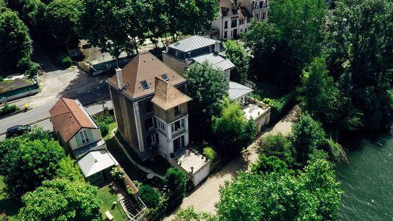 La maison de Georges Bizet à Bougival (Yvelines)