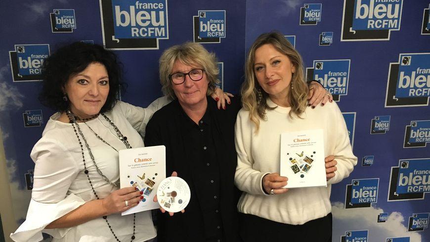 Isa Manzi, Lucie Poli et Emmanuelle Didier