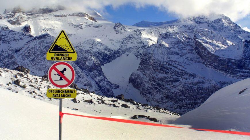 L'avalanche a eu lieu dimanche dernier, un jour de grand beau temps (illustration)