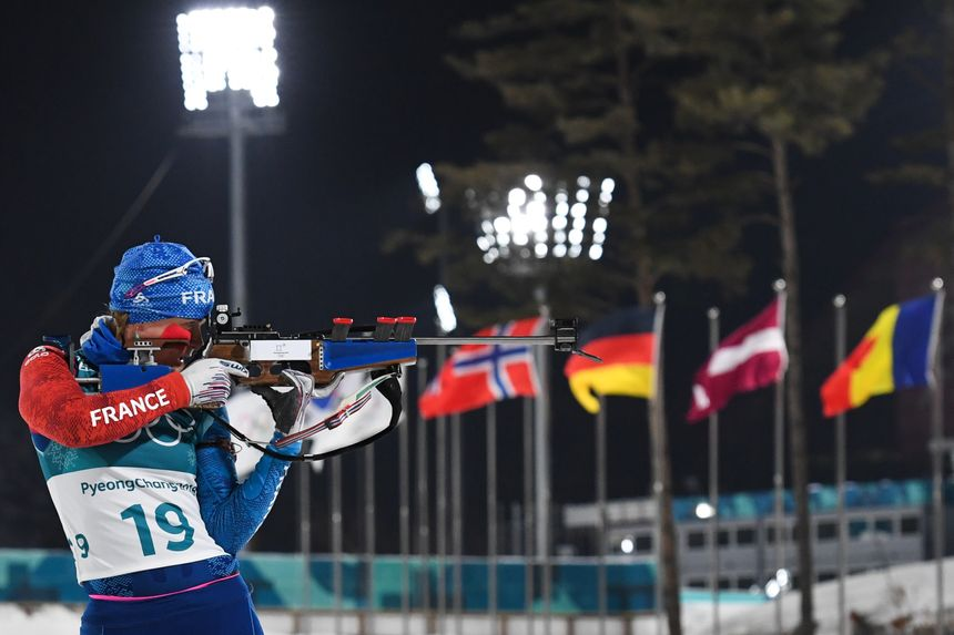 Notamment grâce à un excellent 19/20 au tir, la biathlète jurassienne Anaïs Bescond décroche le bronze olympique à PyeongChang, le 12 février 2018