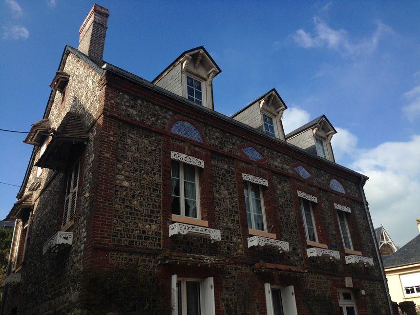 Une maison ancienne à Veules-les-Roses