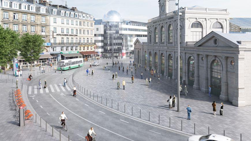 D couvrez le nouveau visage du quartier des gares lille - Cabinet d ophtalmologie des flandres lille ...