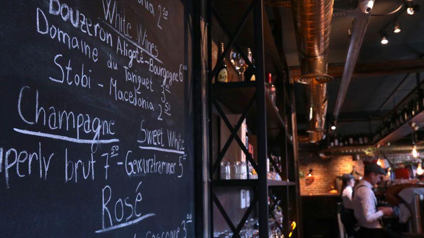 Le Bouchon, le seul restaurant français du Kosovo