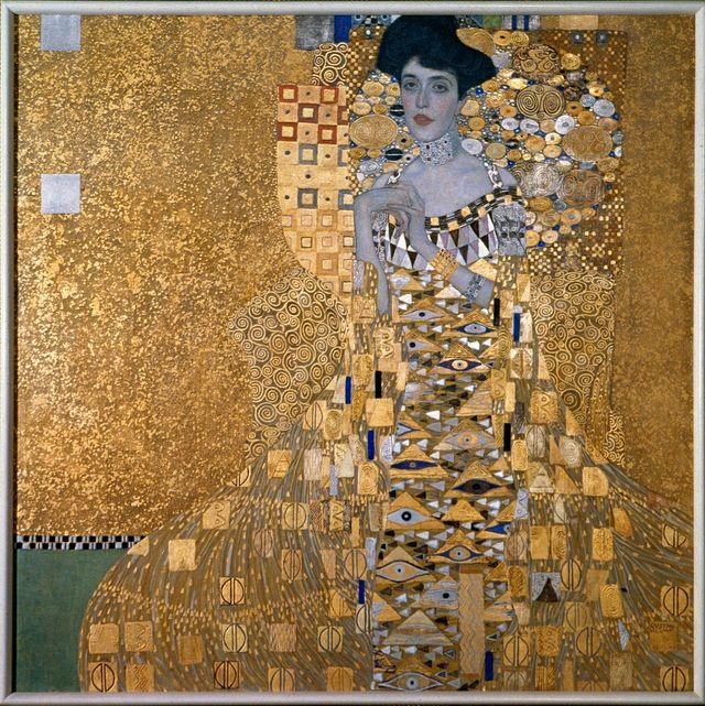 """Le """"Portrait d'Adèle Bloch-Bauer"""" par Klimt (1907)"""