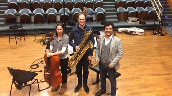 """"""" Seliox """" pour saxophone baryton et violoncelle de Juan Arroyo (5/5)"""