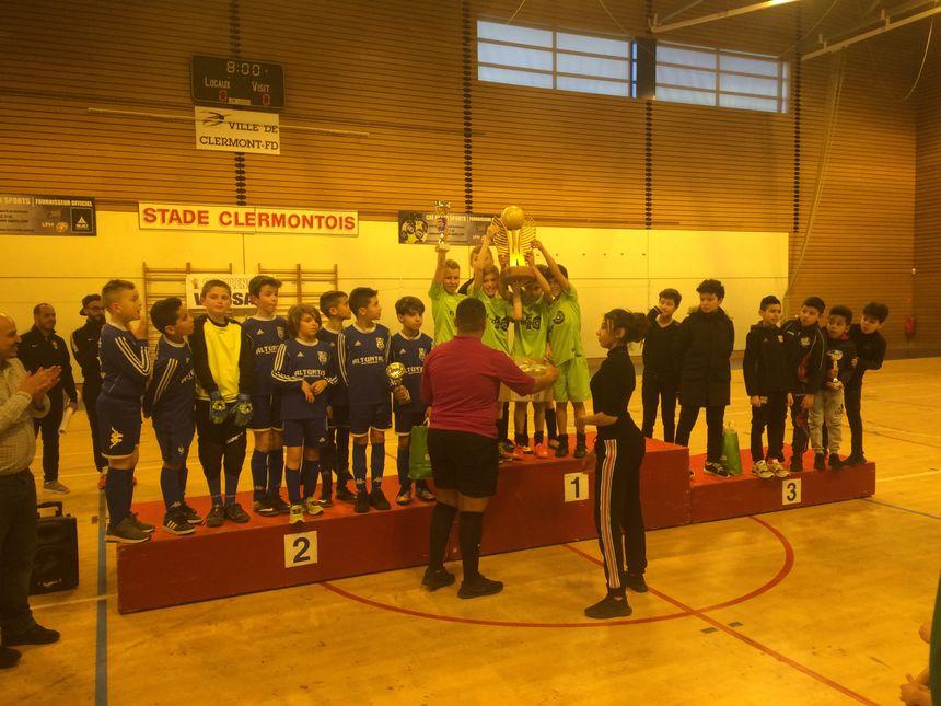 Le podium : Lempdes, Thiers, Clermont-Métropole