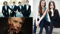 Victoire Bunel et Sarah Ristorcelli / l'ensemble Messiaen / Didier Lockwood et ses élèves du CMDL