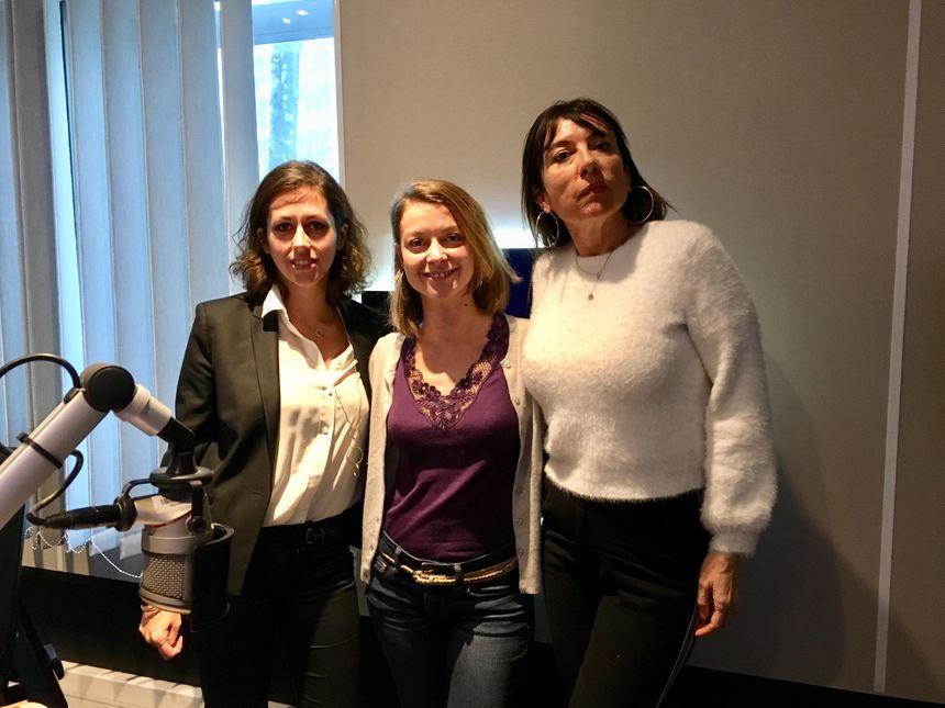 LA BANDE A SERVANE avec Emilie Fumet, Deborah Levy K et Isabelle Astigarraga