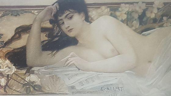 Allégorie de la musique (1884 - huile sur toile frise - salle du Théâtre du Château de Peleș à Sinaïa (Roumanie)