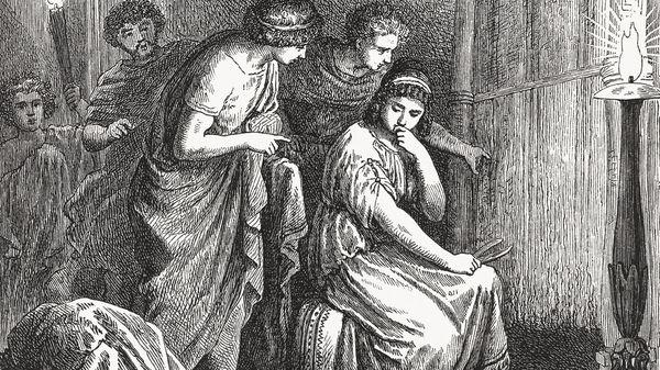 Grandes héroïnes de la mythologie (8/10) : Les femmes d'Ulysse (3/3) : Pénélope