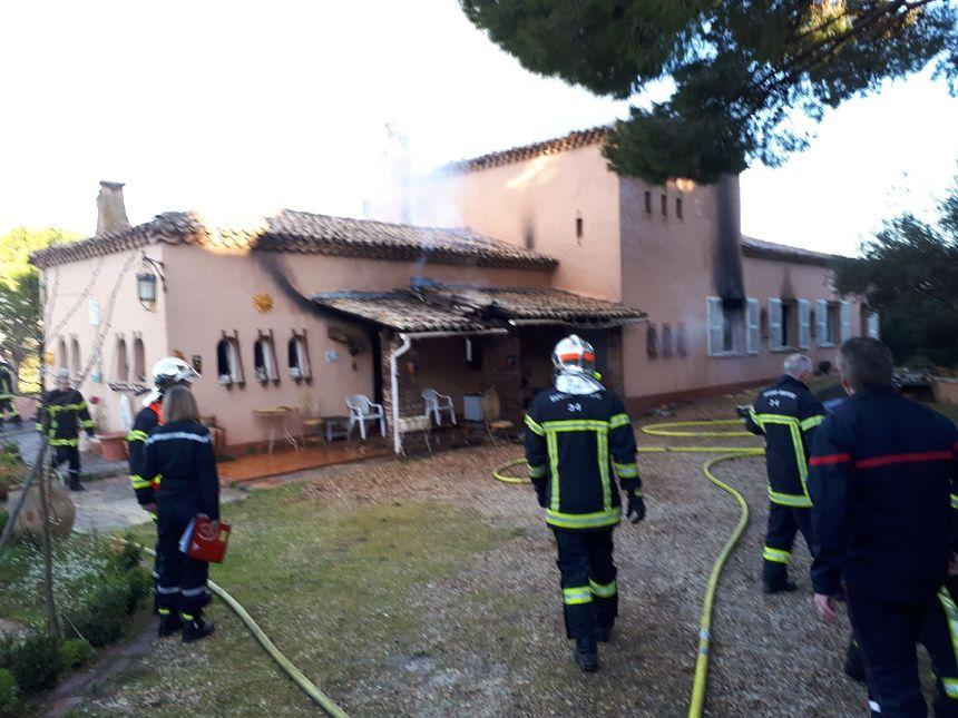 30 sapeurs pompiers de Béziers, Serignan et Nissan sont intervenus