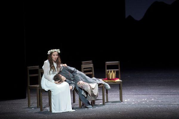 Katherine Watson (Iphis) et Ian Bostridge (Jephtha)