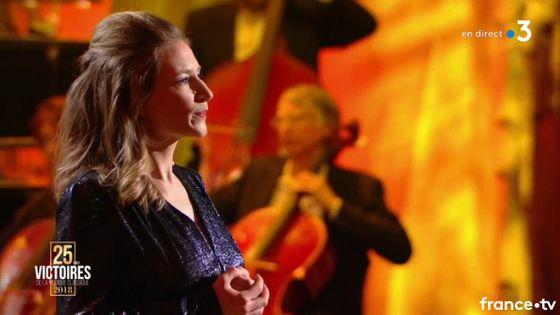 La chanteuse Sabine Devieilhe a été doublement récompensée aux Victoires de la musique classique 2018