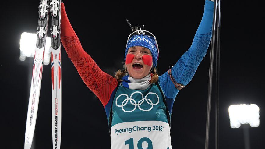 La biathlète jurassienne Anaïs Bescond, médaillée de Bronze au 2018 de PyeongChang (Corée du Sud), ce 12 février !