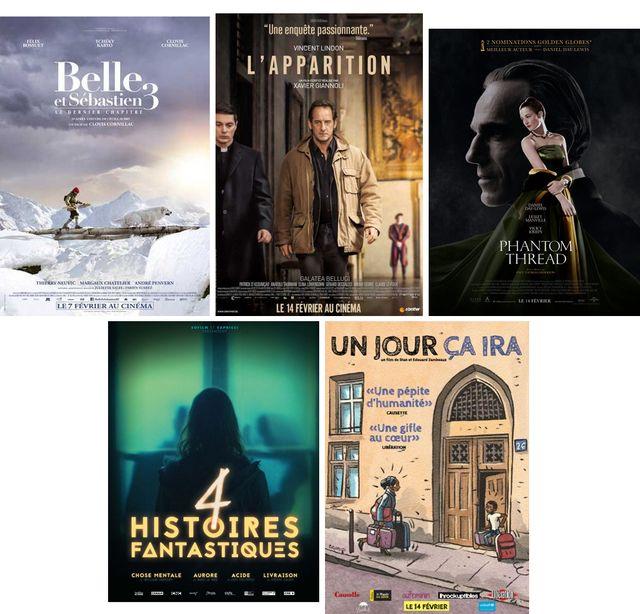 """Affiches des sorties de la semaine évoquées dans """"On aura tout vu"""" cette semaine"""