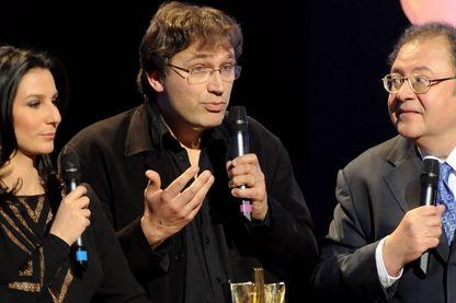 Thierry Escaich, organiste et compositeur pendant les victoires de la musique classique le 14 février 2011