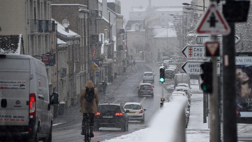 L'Indre-et-Loire est en vigilance orange à la neige pour la journée de vendredi.
