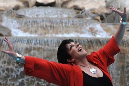 Liza Minelli à Rome