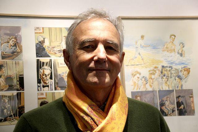 Jacques Ferrandez à la Galerie Gallimard à Paris