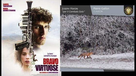 """""""Bravo, virtuose"""" réalisé par Levon Minassian, musique co-signée par Michel Petrossian - sortie le 14 février 2018 / Pierre Gallon, Joseph Haydn """"per il Cembalo Solo"""" - paru en janvier 2018"""