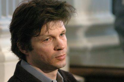 Bertrand Cantat à Vilnius, en 2004
