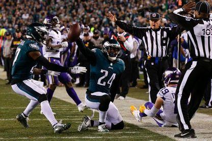 Le football américain est un spectacle avant d'être un sport (les Philadelphia Eagles contre les Minnesota Vikings, le 21 janvier 2018)