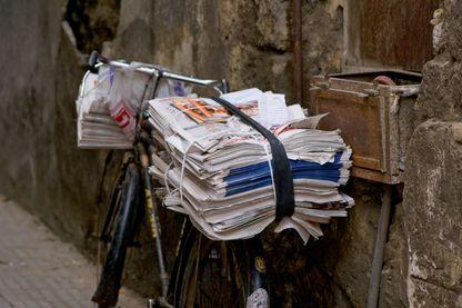 La distribution des journaux
