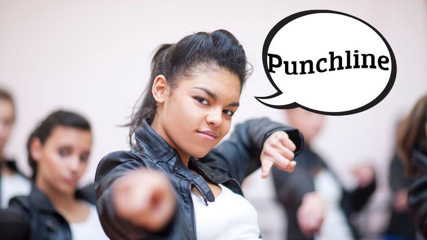 """La signification du mot """"Punchline"""" dans le Dico des Ados"""