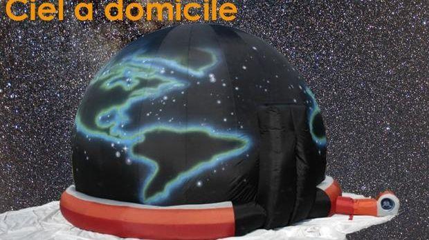 Le planétarium gonflable de la SAB