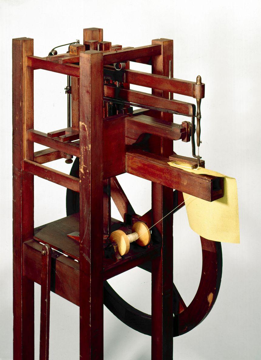 La machine à coudre inventée par Thimonnier