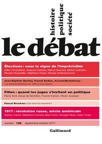 Le Débat n°196