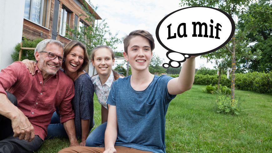 """Signification du mot """"La mif"""" dans le Dico des Ados"""