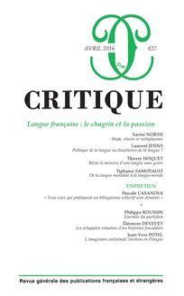 Critique n°827