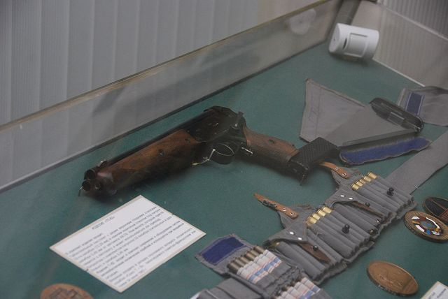 Le fusil TP-82 des cosmonautes russes à bord des vaisseaux Soyouz
