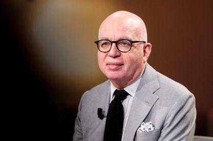 Michael Wolff en pleine promotion de son livre en février 2018