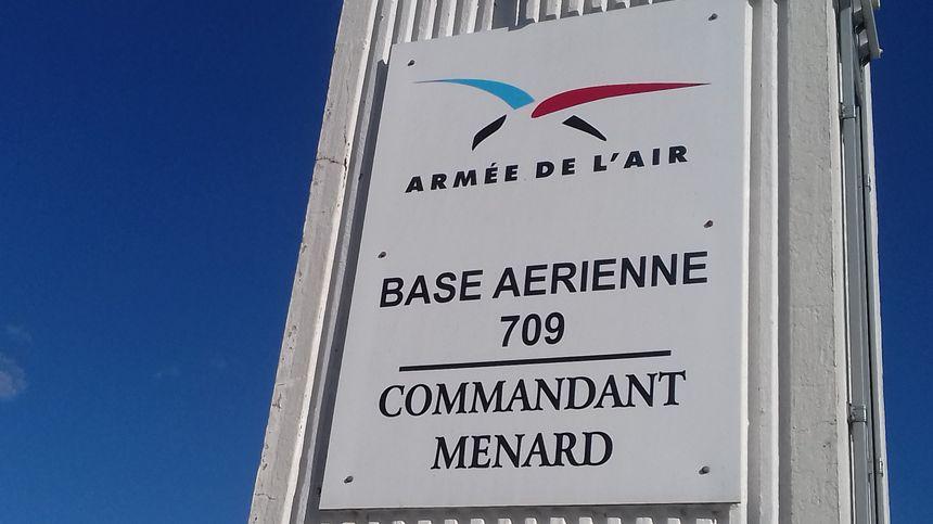 La base aérienne 709 de Cognac-Châteaubernard